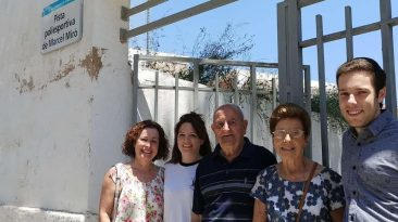 Ajuntament posará el nom d'en MARCEL MIRO a la Pista Poliesportiva del Castell