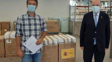 L'Ajuntament del Vendrell reparteix 10.000 mascaretes rebudes de la Subdelegació del Govern d'Espanya