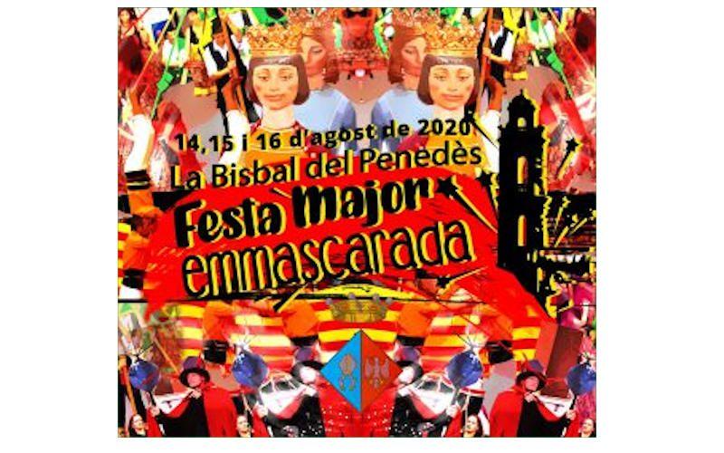 La Bisbal celebrarà la Festa Major 'emmascarada' del 14 al 16 d'agost