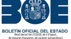 Reial decret llei 27/2020, de 4 d'agost, de mesures financeres, de caràcter extraordinari i urgent, aplicables a les entitats locals.