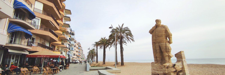 imatge passeig maritim Sant Joan de Deu El Pescador